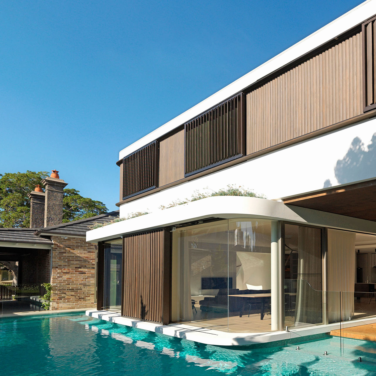 Modern House Plans With Pool Architecture A Modern House Design With An Impressive Swimming