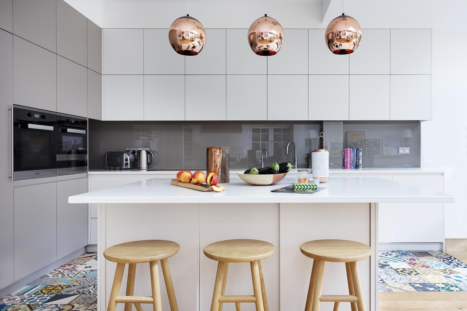 Copper Interior Design Room Of The Week A Modern Kitchen With Vintage And Copper