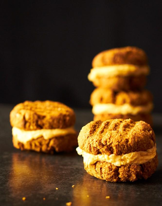 Peanut Pumpkin Cookies