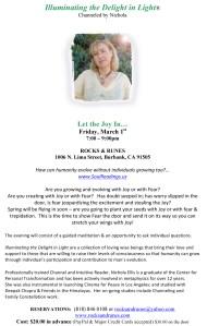 Rocks & Runes flyer - March 1