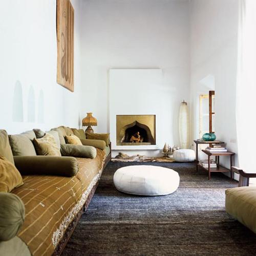 Ryad Sharai marruecos marrakech Inspiración interiores del mundo Estilo minimalista Diseño de interiores Dec