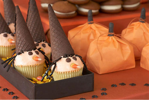 tendencia regaliz postres piruletas halloween estilo dulces Decoración de interiores colores chocolate carmelos buffets