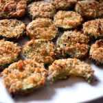 Baked Zucchini Parmesan Crisps