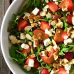 Strawberry, Arugula and Feta Salad
