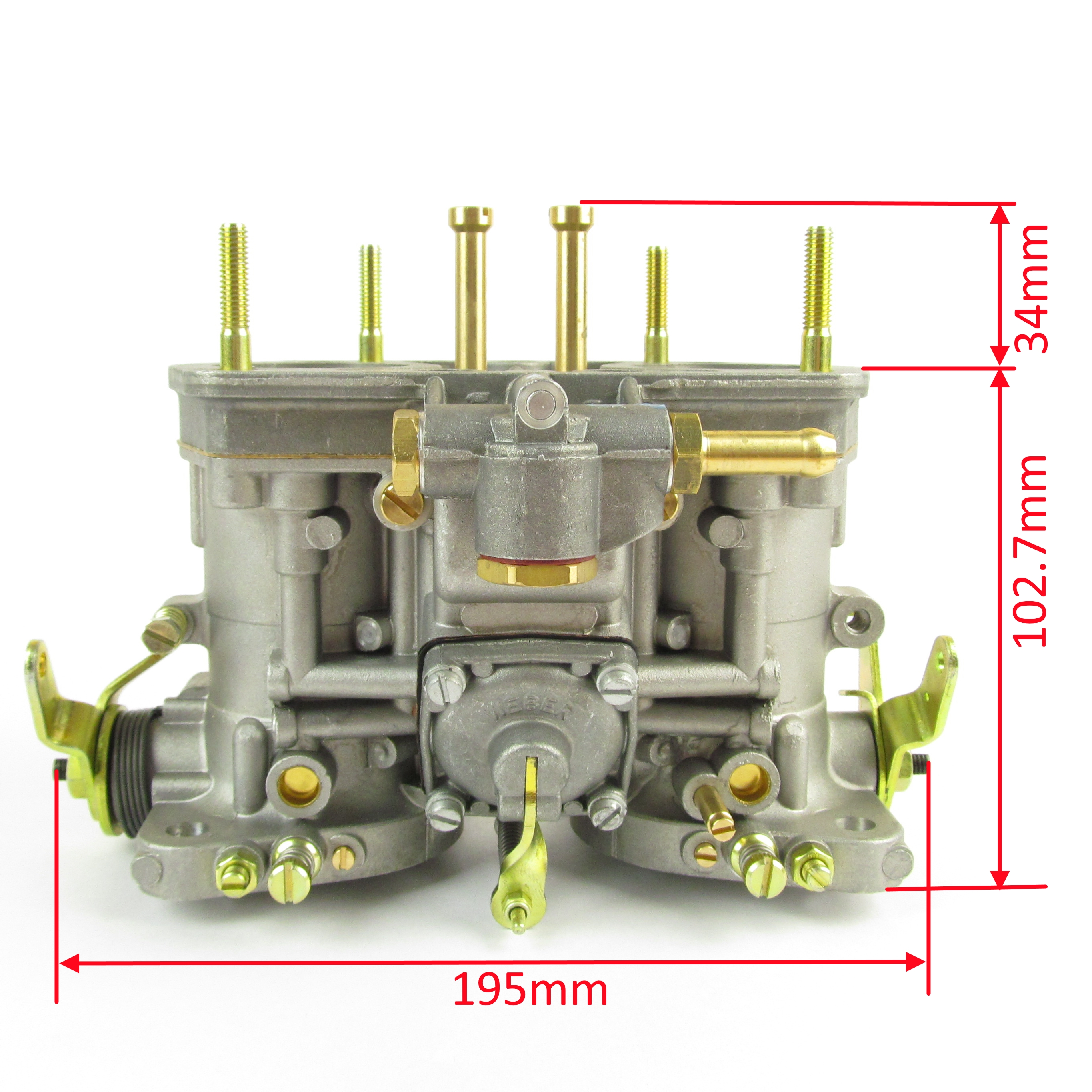 Dubbele Webers Weber Idf 40 Carburettor Without Starter Eurocarb