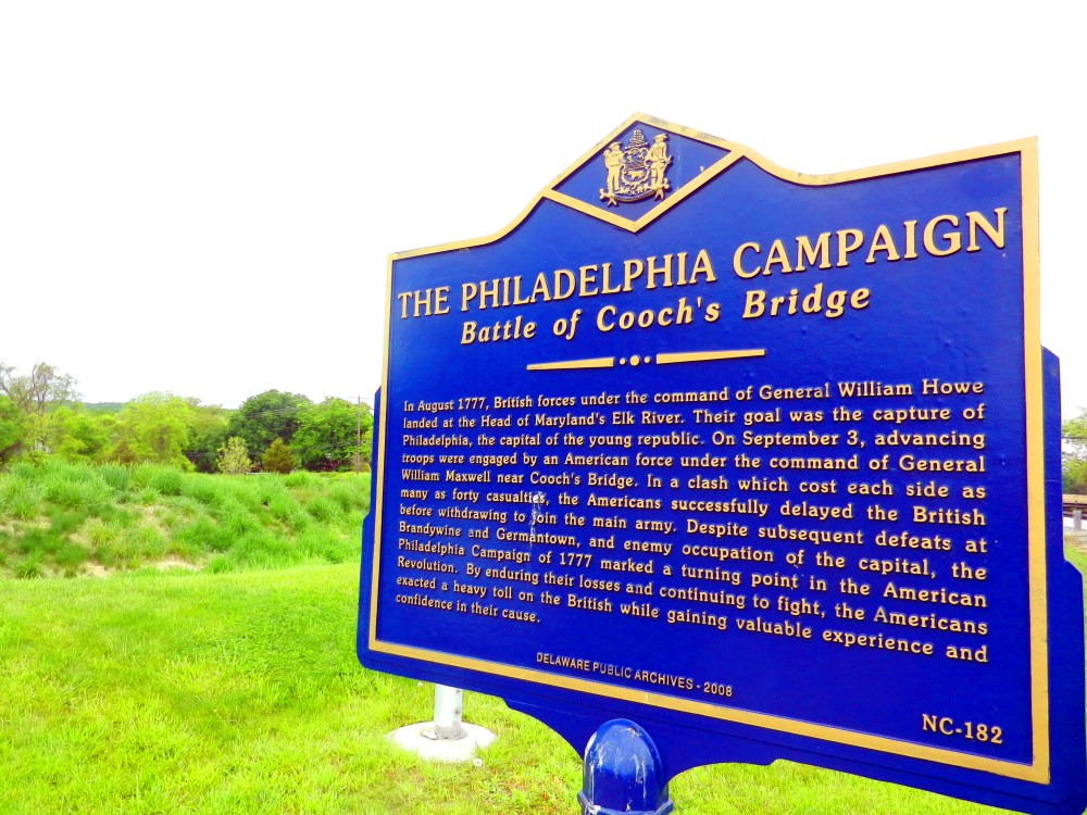 New Interpretive Map Shows Start of Philadelphia Campaign, From Head of Elk to Cooch's Bridge in Revolutionary War (3/3)