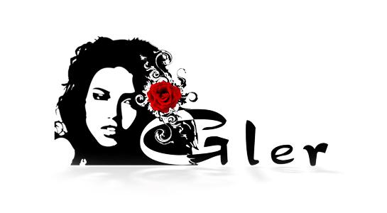 Дизайн логотипа для студии красоты «Gler»