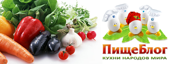 Дизайн рекламного баннера «ПищеБлог»