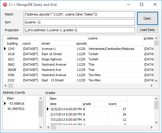 MongoDB FireDAC C++