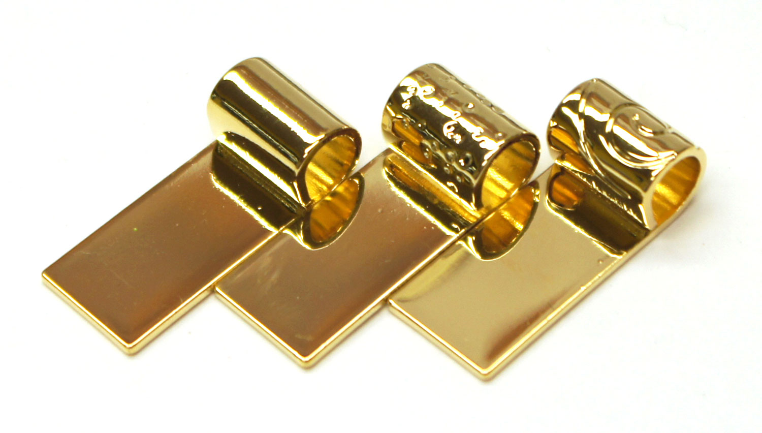 Gold Tube 14k Gold Plated Tube Bail Assortment 10 Pack And
