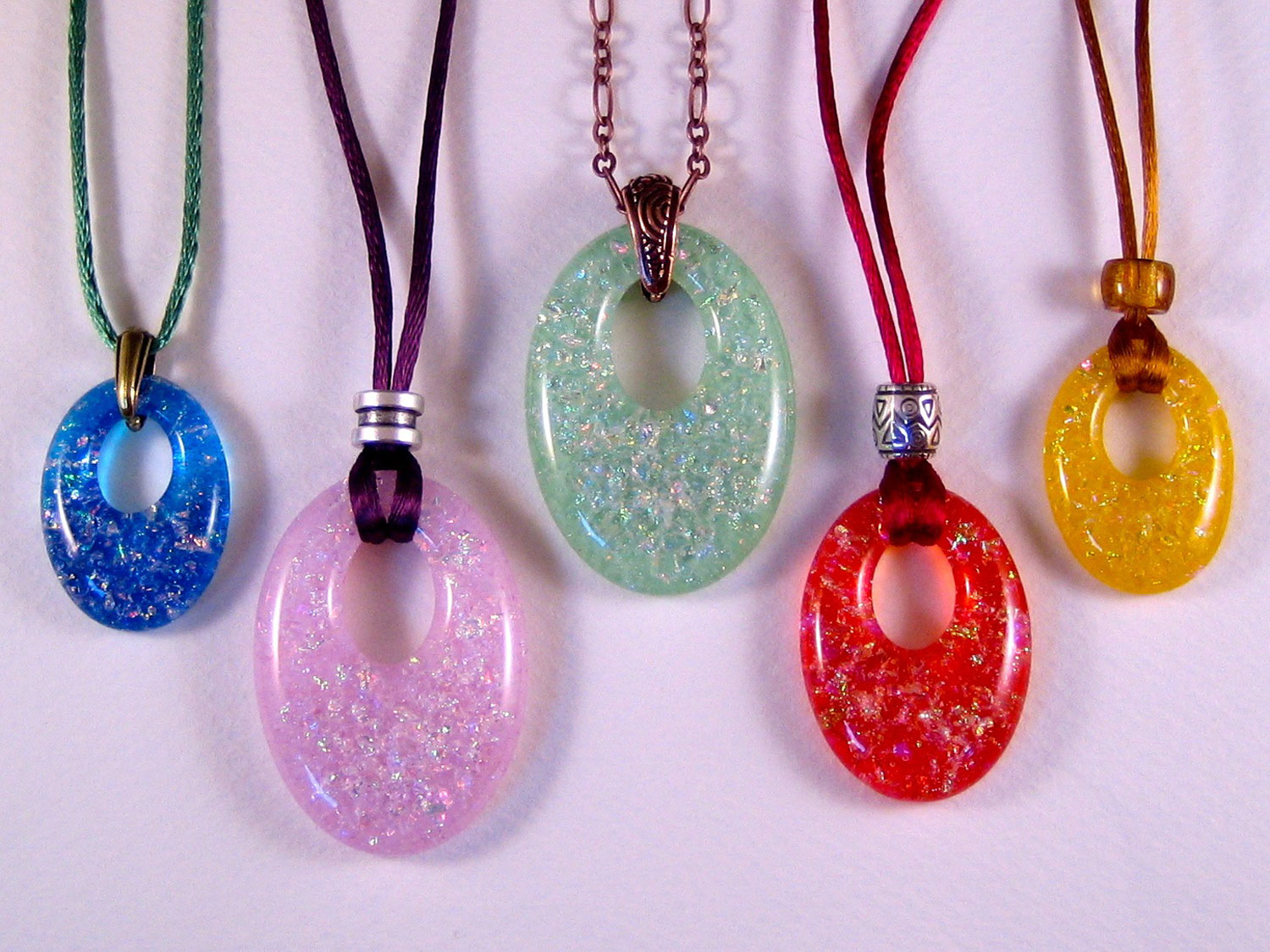 Bulleye Lamp Offset Oval Pendants Mold | Jewelry Jewelry