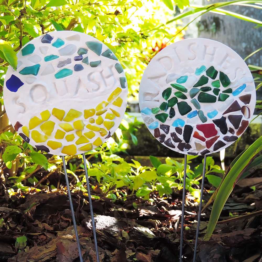 Diy Gartenstecker Mosaic Garden Stake Kit