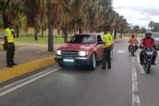Digesett retiene 761 luces LED de vehículos durante el fin de semana