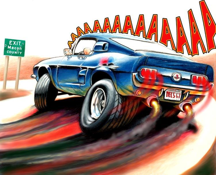 Cartoon Cars 3 - Swanson Artworks