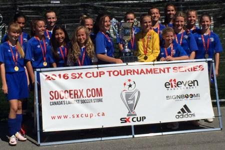 DCS 2003 are 2016 SX Cup U14 Metro Champions