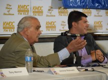 """Jimmie Rishwain to Mayor Anthony Silva, """"You are a weak man. You get yourself into trouble... We need leadership and teamwork,"""" on May 3 in the North Forum."""