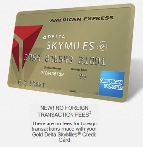 delta amex no foreign transaction fees