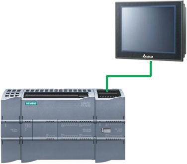 Communication between Delta HMI and Siemens PLC S7-1200 \u2013 Delta