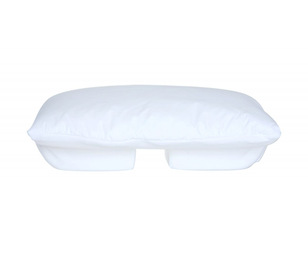 Tempur Neck Pillow Large Better Sleep Pillow Memory Foam 5 5 Inch Thick Foam Patented Arm Tunnel Design Improves Hand And Arm Circulation Neck Pain Relief Perfect Side