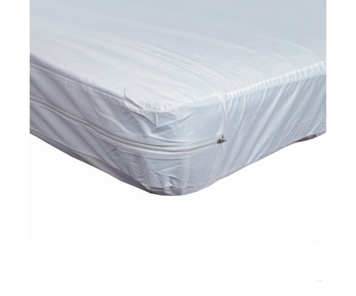 Plastic Mattress Twin Zippered Plastic Mattress Protector For Home Beds