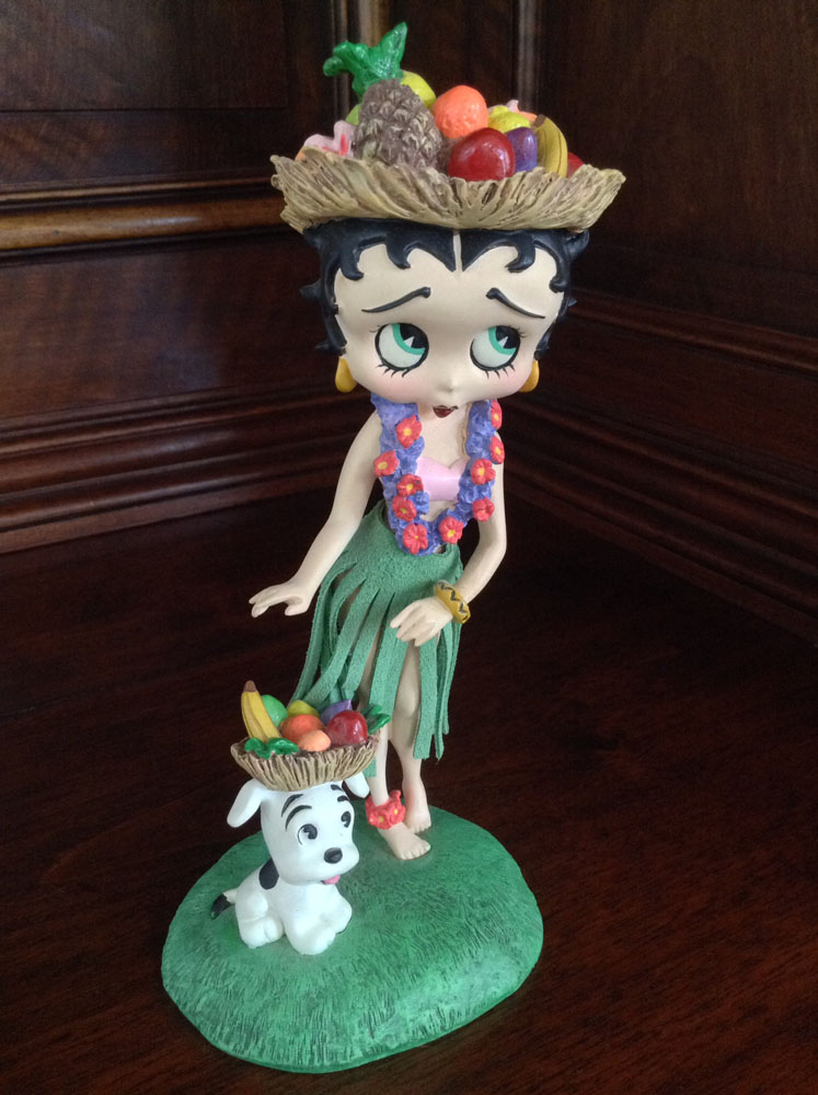 Different Kitchen Islands Betty Boop Hawaiian Holiday Collector Figurine