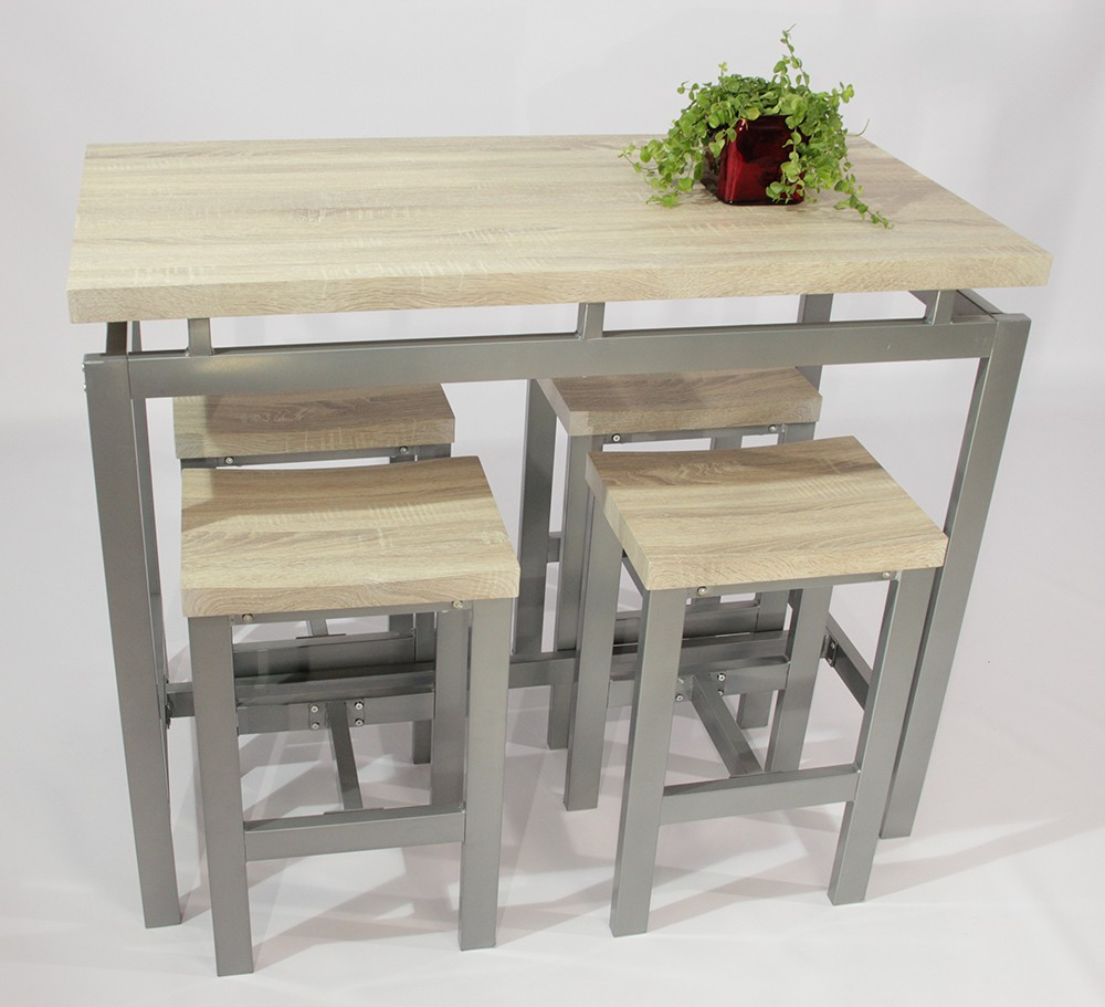Table Valise + 4 Tabourets Set Table Et Tabourets Le Mans