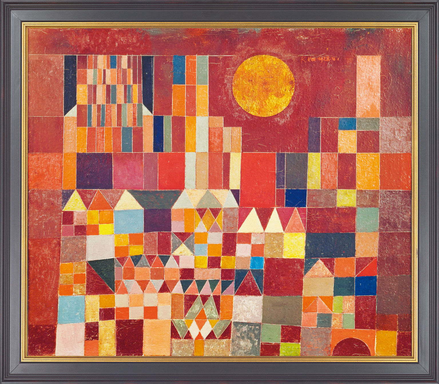 Paul Klee Pinturas Paul Klee Castle And Sun For Sale
