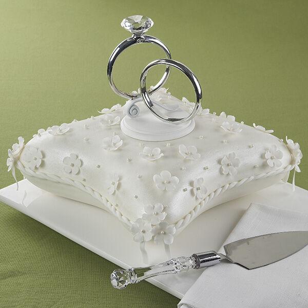 WLPROJ wedding ring cake topper