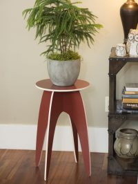 Tall Plant Stand: Easy-Up Indoor Tall Plant Stand, Wooden