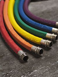 Rubber Hose, Colorful Garden Hoses, Water Hoses | Gardener ...