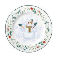 Pfaltzgraff | Winterberry Snowman Salad Plate