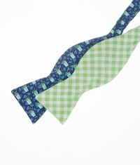 Kentucky Derby Ties: Shop Mint Julep 2-Panel Bow Ties for ...