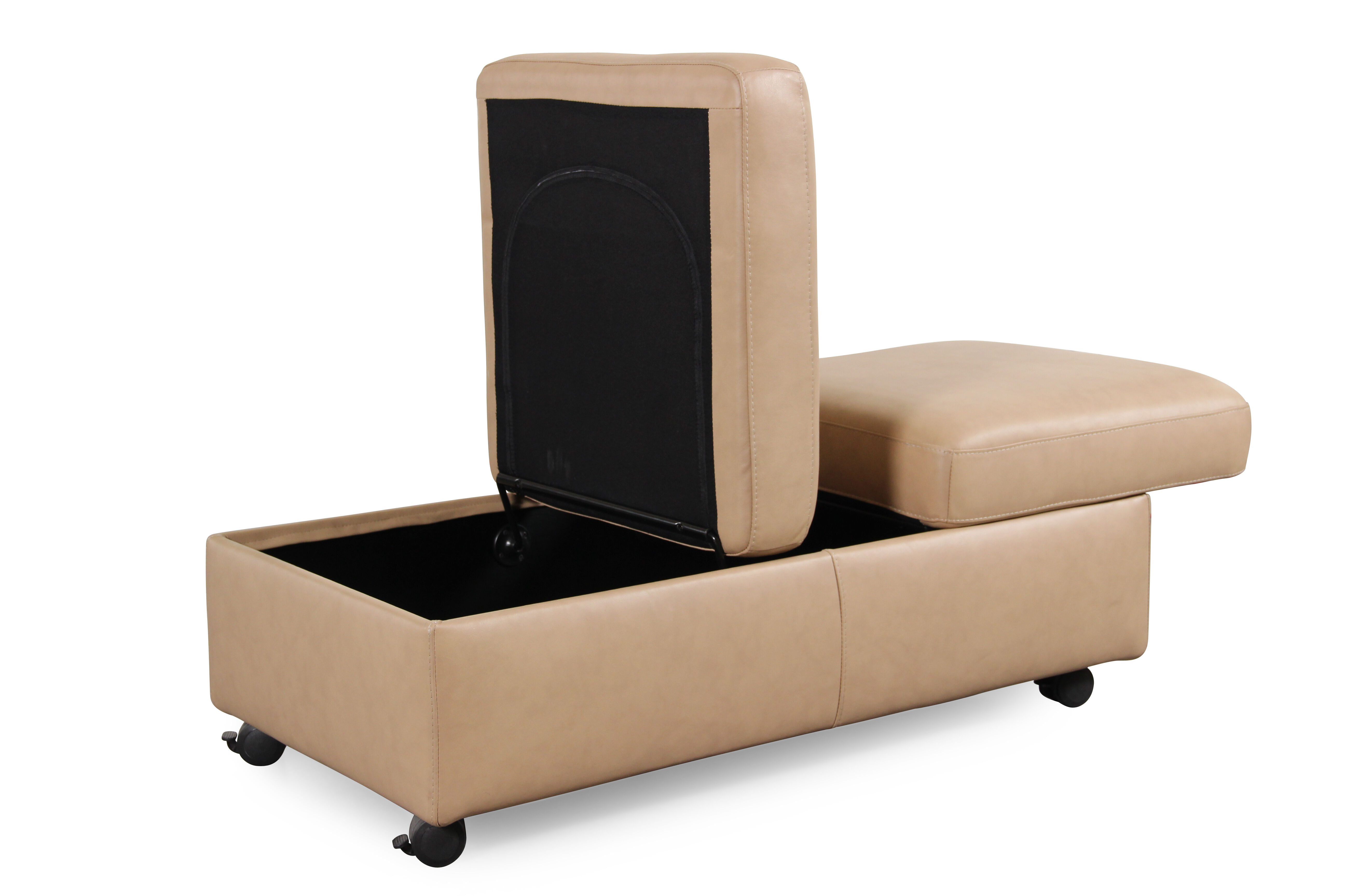 Stressless Sofa Ottoman Stressless Paloma Sand Double Ottoman With Table Top