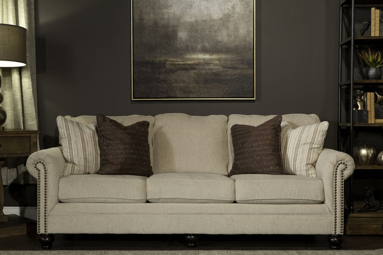 Sofa Ashley Milari Ashley Milari Linen Sofa | Mathis Brothers Furniture