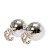 Silver-tone Anchor Front and Back Stud Earrings   Claire's US