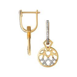 Small Of Diamond Drop Earrings