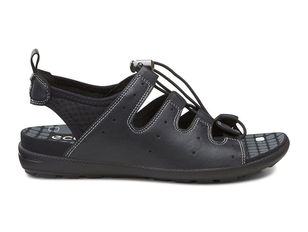 ecco jab toggle sandalecco jab toggle sandal in black black 51707