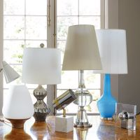 Nelson Platinum Table Lamp | Modern Table Lamps | Jonathan ...