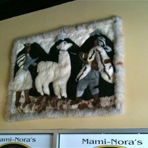 Mami Nora's Camel Rug