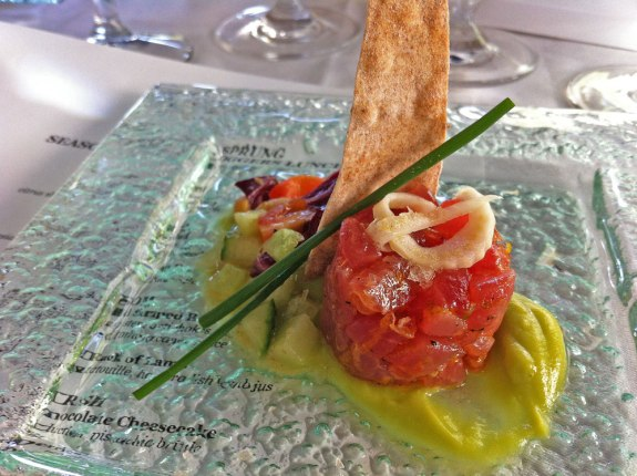 Fairview Room - Ahi Tuna Tartare with Avocado Mousse