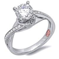 Modern Platinum Bridal Rings   Demarco Bridal Jewelry ...