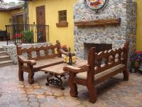 Spanish Style Outdoor Entry - Home Decorating Ideas