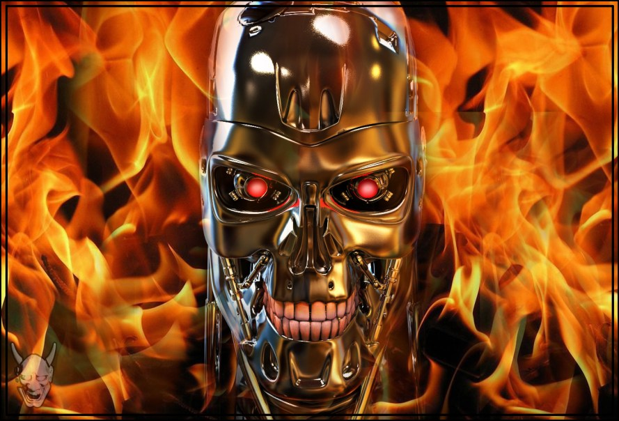 New 3d Animation Wallpaper Terminator Skull Complete The Art Of Demetrius Kelly