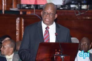 Finance Minister, Winston Jordan.