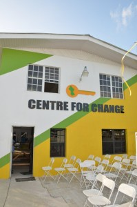 The Sheila Holder Centre for Change- the AFC's headquarters located on Railway Embankment Road, Kitty.