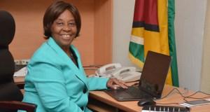 Guyana's Ambassador to Venezuela, Cheryl Miles.