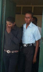 "Shivnarine ""Shiv"" Roopnarine at the Sparendaam Magistrates' Court."