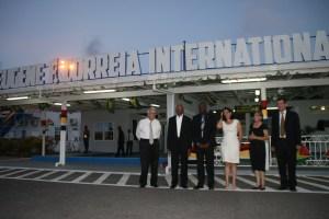 The Ogle International Airport has been renamed Eguene Eugene F. Correia International Aiport