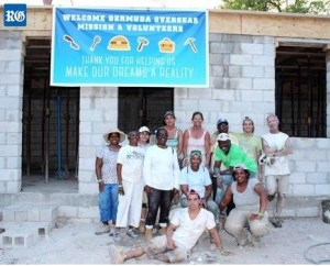 Members of the Bermuda Overseas Missions are heading to Guyana to help build houses for those in need.