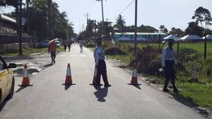 A section of Woolford Avenue was cordoned off by police only after the accident, a Scout Association of Guyana official said.